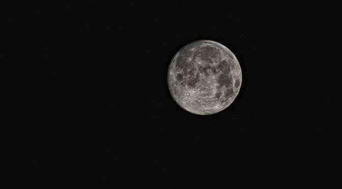 The gloomy moon